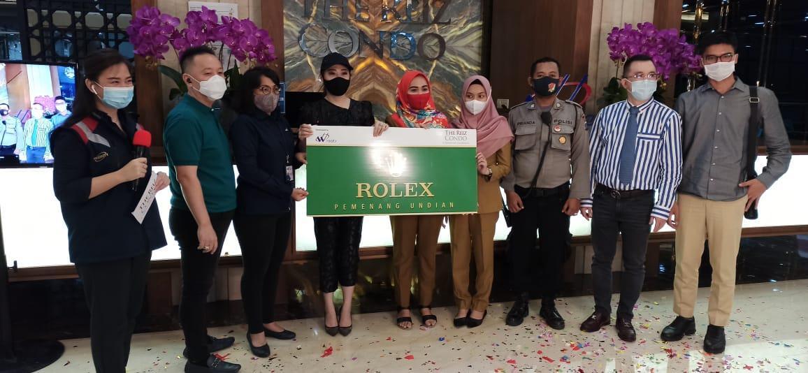 Undian Rolex Online Pertama Dilakukan Vasaka The Reiz Condo