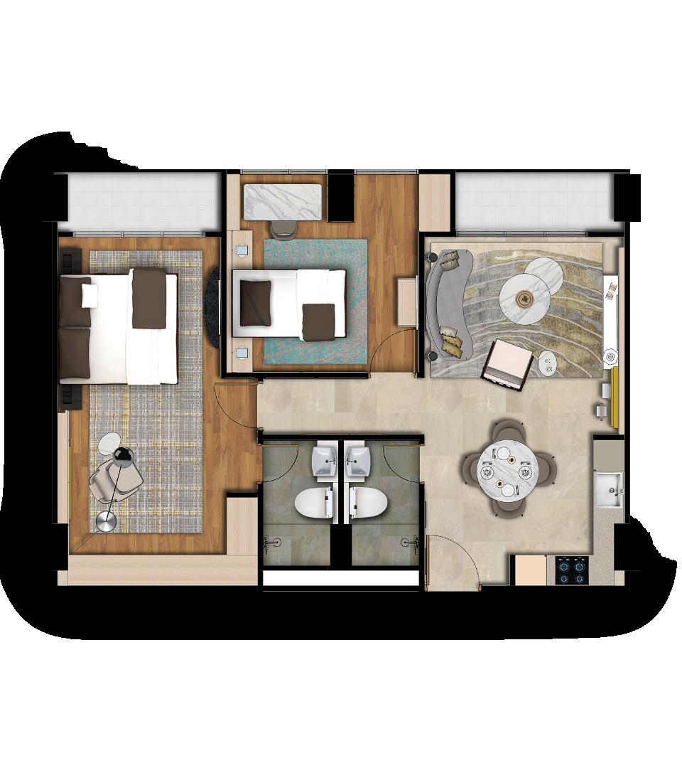 Reiz Deluxe Floorplan